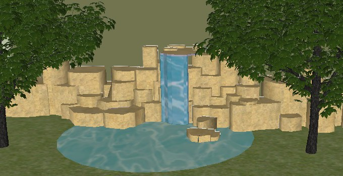 Waterfalls Cascades Water Feature Design