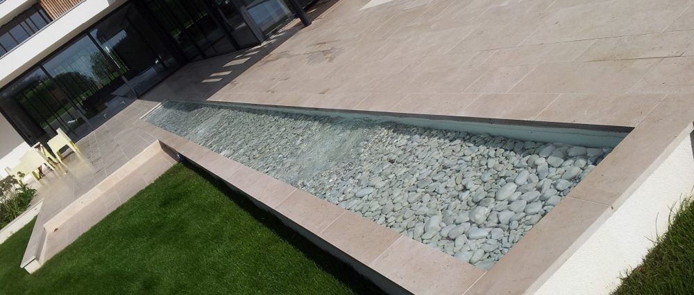 Rill water feature Oxford