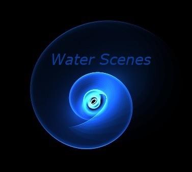 Water Scenes Water Feature Logo.