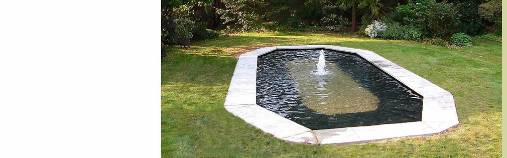 Compleated pond design