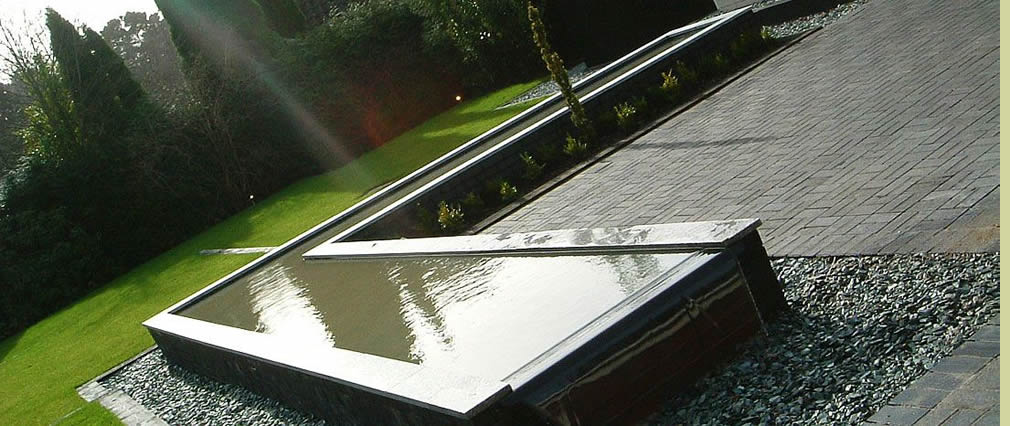 Rill water feature London