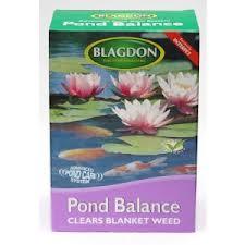 pond ballance