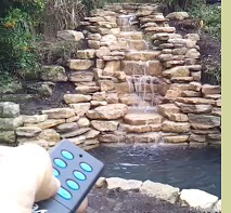 Remote Control Waterfall