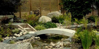 High Quality Curved Granite Bridge.