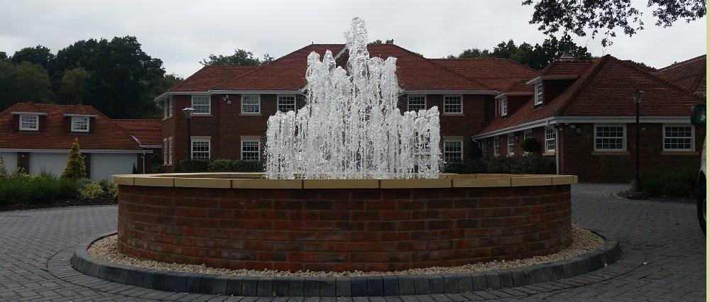 Fountain feature multi jet design