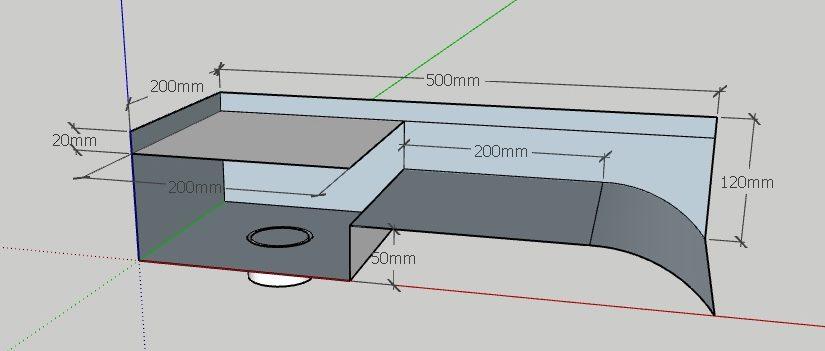 Steel water feature design